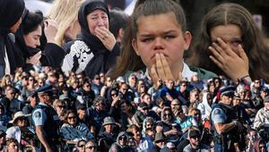 Gözyaşları sel oldu Türkler de katıldı