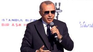 Cumhurbaşkanı Erdoğandan Yenikapıda önemli açıklamalar