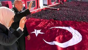 Cumhur İttifakından İstanbulda tarihi miting
