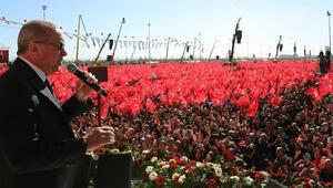 Son dakika Cumhurbaşkanı Erdoğandan Yenikapıda önemli açıklamalar