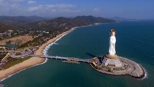 Çindeki 108 metrelik dev heykel