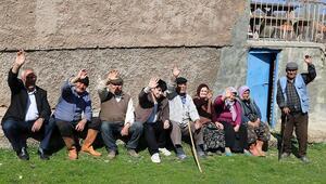 14 kişinin yaşadığı yedi haneli köy