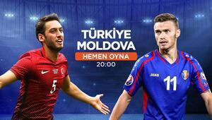 EURO 2020 yolunda rakibimiz Moldova iddaada oynanması gereken...