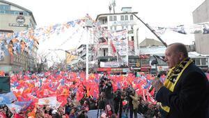 Cumhurbaşkanı Erdoğan'dan Ağrı'da önemli açıklamalar