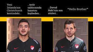 Milli futbolculardan Hello Brother mesajı