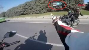 İstanbulda trafikte şok görüntüler Gözaltına alındılar...