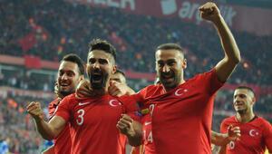 A Millilerden dört dörtlük performans: Türkiye 4-0 Moldova