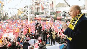 Erdoğan: Gereken dersi 31 Mart'ta vereceğiz