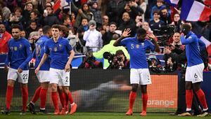 Fransada sürprize yer yok: Fransa 4-0 İzlanda