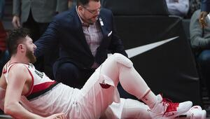 Jusuf Nurkicin bacağı kırıldı Portland şokta...