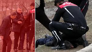 Erzurum'da dehşet Çocuklarının gözü önünde öldürüldü