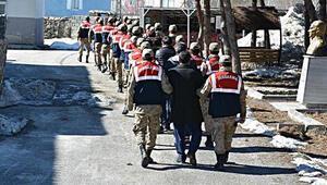 Muş'ta terör operasyonu: 31 gözaltı