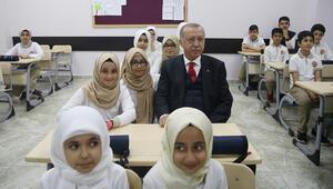 Cumhurbaşkanı Erdoğan, Hasan Taşar İmam Hatip Ortaokulunun açılışını yaptı
