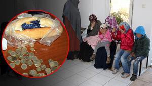 Parayı gizledikleri yer pes artık dedirtti