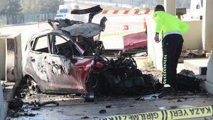 16 yaşındaki genç ailesinden izinsiz aldığı araçta feci şekilde can verdi
