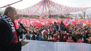 Cumhurbaşkanı Erdoğandan Düzcede önemli açıklamalar