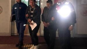 Bergamada baba oğul hayvan hırsızlığından tutuklandı
