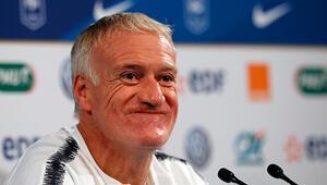 Didier Deschamps: Türkiye maçında sıcak atmosfer olacak