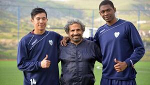 Kolombiyalı futbolcular, Diyarbakıra alıştı
