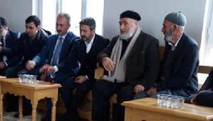 Bakan Gül, Gergerde taziye ziyaretine katıldı
