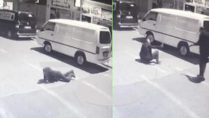 İstanbulda cadde ortasında korkunç anlar