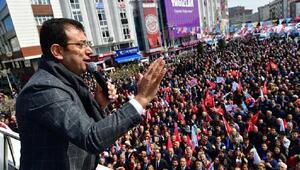 İmamoğlu: İstanbula sevgiyi, saygıyı, hak hukuk adaleti getirmeye geldik