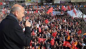 İçişleri Bakanı Süleyman Soylu Sancaktepede konuştu