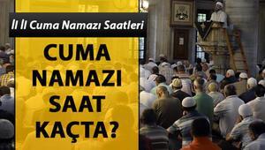 Cuma namazı saatleri Diyanet tarafından paylaşıldı   İstanbul'da cuma namazı bugün saat kaçta kılınacak