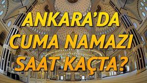 Ankarada ve tüm illerde Cuma namazı saat kaçta kılınacak Diyanet bilgisi