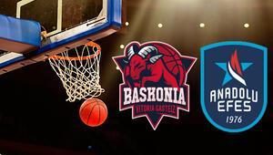 Saski Baskonia Anadolu Efes maçı ne zaman saat kaçta hangi kanalda Sıralama mücadelesi