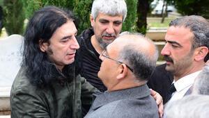 Murat Kekillinin babası son yolculuğuna uğurlandı