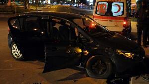 Keçiörende trafik kazası: 3 yaralı