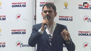 Çevre ve Şehircilik Bakanı Murat Kurum, Konyada Seçim Koordinasyon Merkezini ziyaret etti