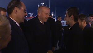 Beklenen buluşma gerçekleşti İşte Cumhurbaşkanı Erdoğanın ilk sözleri