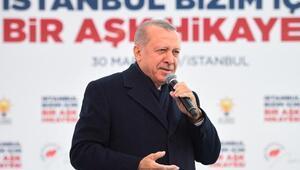 Cumhurbaşkanı Erdoğan Güngörende konuştu