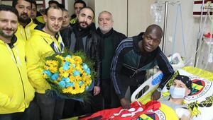 Sow, lösemi hastası Mehmet Polata sürpriz yaptı