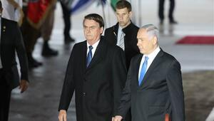 Brezilya Cumhurbaşkanı Bolsonaro İsrail'de