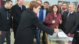 İYİ Parti lideri Meral Akşener oyunu kullandı