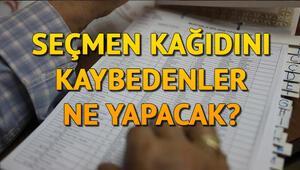 Seçmen kağıdı olmadan oy kullanılır mı Kimliksiz oy kullanılır mı