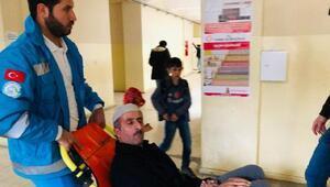 Şemdinlide hasta ve engelliler, ambulanslarla taşındı