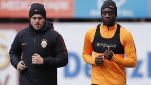 Galatasarayda Diagne, özel program ile çalıştı