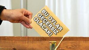 Geçersiz oylar hangileri Oylar hangi durumlarda geçersiz