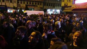 Çayelinde MHPli aday kazandı, partililer kutlama yaptı