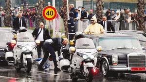 Papayı karşılamada panik