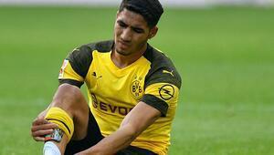 Borussia Dortmund'da Achraf Hakimi sezonu kapattı