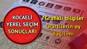 Kocaeli 2019 seçim sonuçları görüntüleme ekranı 31 Mart Kocaeli yerel seçim oy oranları