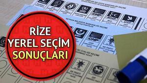 Rize 31 Mart seçim sonuçları ve partilere göre oy oranı dağılımları