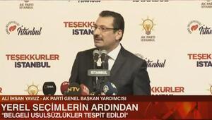 AK Partiden bir açıklama daha: Belgeli şekilde bir takım usulsüzlükler söz konusu