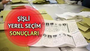 Şişli seçim sonuçları | 31 Mart Şişli yerel seçim sonuçları ve partilerin oy oranları