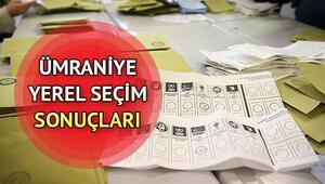 31 Mart Ümraniye yerel seçim sonuçları ve partilerin oy oranları | Ümraniye seçim sonuçları